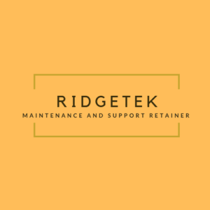 RidgeTek Maintenance Support Ad